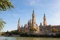 Basilica Del Pilar in Zaragoza Royalty Free Stock Photo