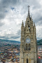 Basilica del voto nacional quito ecuador south america Royalty Free Stock Photo