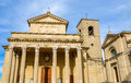 The Basilica di San Marino, a Catholic church Royalty Free Stock Photo