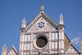 The Basilica di Santa Croce Basilica of the Holy Cross church in Florence, Italy Royalty Free Stock Photo
