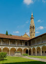 Basilica di Santa Croce. Florence, Italy Royalty Free Stock Photo