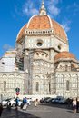 The Basilica di Santa Maria del Fiore in Florence Royalty Free Stock Photo