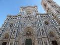 Basilica di santa maria del fiore in florence italy Royalty Free Stock Images