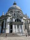 Basilica di santa maria della salute venice dorsoduro venezia Stock Photography