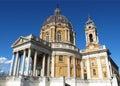 Basilica di Superga, Turin Royalty Free Stock Photo