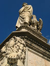 Basilica of the holy cross di santa croce temple italian glories tempio dellitale glorie in florence firenze Stock Photos