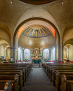 Basilica of mission san francisco interior the de asís x dolores x on th street in california Stock Images