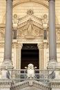 Basilica of Notre Dame de Fourviere, Lyon Royalty Free Stock Photo
