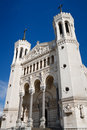 Basilica of Notre-Dame de Fourviere, Lyon, France Royalty Free Stock Photography