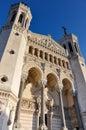 Basilica of Notre-Dame de Fourviere, Lyon, France