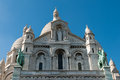 Basilica of the sacré cœur viii on montmartre hill in paris france a historic center artists such as salvador dalí amedeo Royalty Free Stock Images