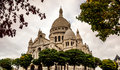 Basilica of sacré cœur the Stock Image