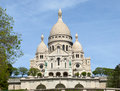 Basilica Sacre Coeur Royalty Free Stock Photo