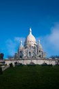 Basilica Sacre Coeur in Paris France Royalty Free Stock Images