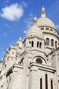 Basilica of the sacred heart basilique du sacre coeur paris was built between and and consecrated in on montmartre hill france Stock Images