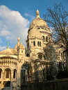 The Basilica of the Sacred Heart of Paris Royalty Free Stock Image