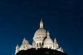 Basilica Sacred Heart of Paris. Royalty Free Stock Photos