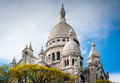 Basilica sacred heart paris france Stock Photos