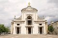 Basilica of Saint Mary of the Angels in Assisi, Umbria, Italy. Royalty Free Stock Photo
