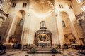 The Basilica of Saint Nicholas,in Bari, Italy Royalty Free Stock Photo