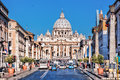Basilica of Saint Peter in the Vatican, Rome, Italy Royalty Free Stock Photo