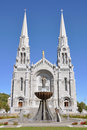 Basilica sainte anne de beaupre quebec city quebec canada Stock Photography
