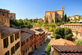 Basilica san domenico (siena) Stock Photography