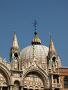 The Basilica San Marco in Venice Stock Image