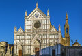Basilica of Santa Croce, Florence, Italy Royalty Free Stock Photo