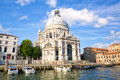 Basilica Santa Maria della Salute Royalty Free Stock Photo