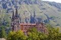 Basilica of Santa Maria la Real of Covadonga Royalty Free Stock Photo