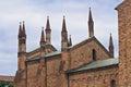 Basilica of St. Antonino. Piacenza. Emilia-Romagna. Italy. Stock Photo