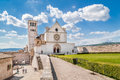 Basilica of St. Francis of Assisi in Assisi, Umbria, Italy Royalty Free Stock Photo