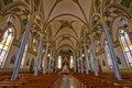 The Basilica of St. Francis Xavier Stock Photos