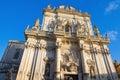 Basilica of St. Giovanni Battista. Lecce. Puglia. Royalty Free Stock Photo