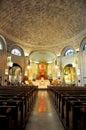 Basilica of st lawrence in asheville inside roman catholic north carolina Royalty Free Stock Photo