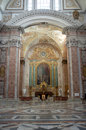 The Basilica of St. Mary of the Angels and the Martyrs in Rome Royalty Free Stock Photo