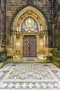 Basilica of St Peter and St Paul in Vysehrad in Prague Royalty Free Stock Photo