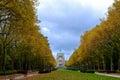 Basilique on autumn de koekelberg in season bruxelles belgium Stock Photo