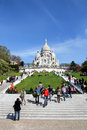 Basilique du Sacré-Cœur, Paris Stock Photo
