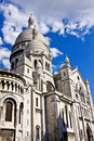 The Basilique du Sacré-Coeur Royalty Free Stock Photos
