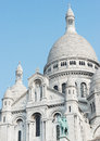 Basilique du sacré cœur the basilica of the sacred heart of paris Stock Photo