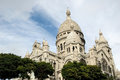 Basilique du Sacre Coeur, Paris, France Royalty Free Stock Photo
