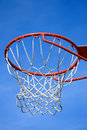 Basket hoop Stock Photo