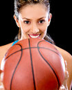 Basket player Stock Photo