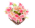 Basket roses Stock Photo