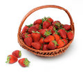 Basket of strawberries Royalty Free Stock Photo