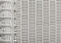 Basket Texture Weave Pattern, White Wicker Background Royalty Free Stock Photo