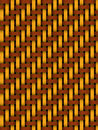 Basket weave background Royalty Free Stock Images