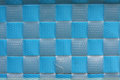 Basket weave background the blue Stock Images